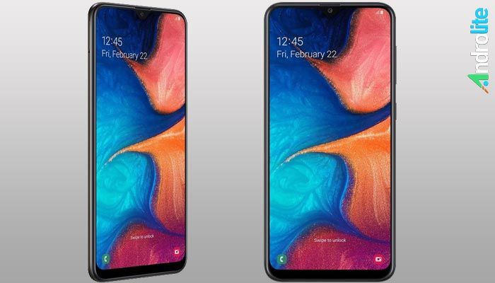 Samsung Galaxy A20 Resmi Meluncur, Usung Layar Ininity-V