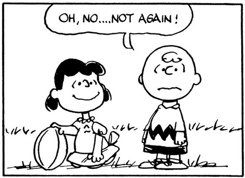 Lucy, Charlie Brown, Football