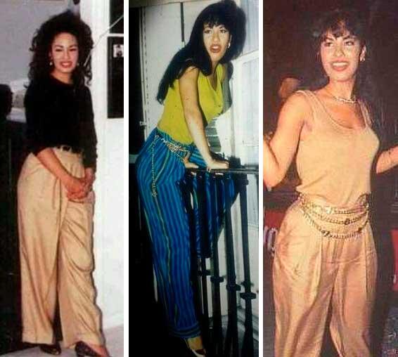 Selena Quintanillha roupas anos 90