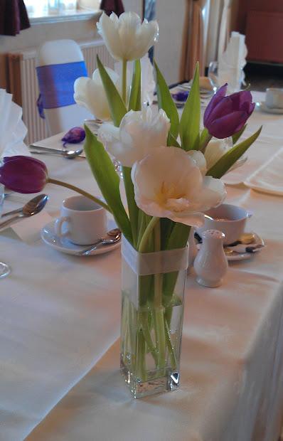 Katie Gilman Floristry Design Springtime Tulip Wedding