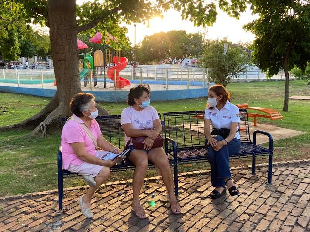 Candidata de Morena busca erradicar por completo violencia institucional