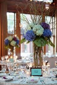 Hydrangea Table Decorations