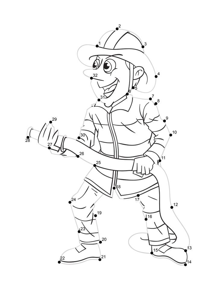 fire fighter worksheet