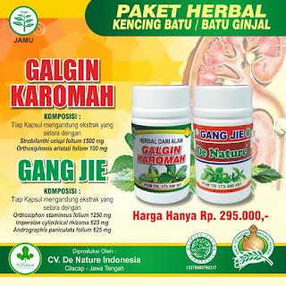obat batu ginjal,batu empedu De Nature di Aceh Barat Daya