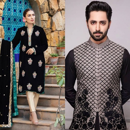 Danish Taimoor and Ayeza Khan Same Dress excellent Clicks 9