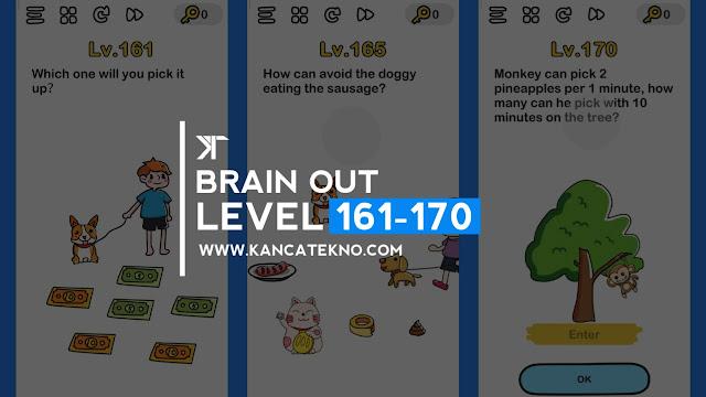 Kunci Jawaban Brain Out Level 161-170