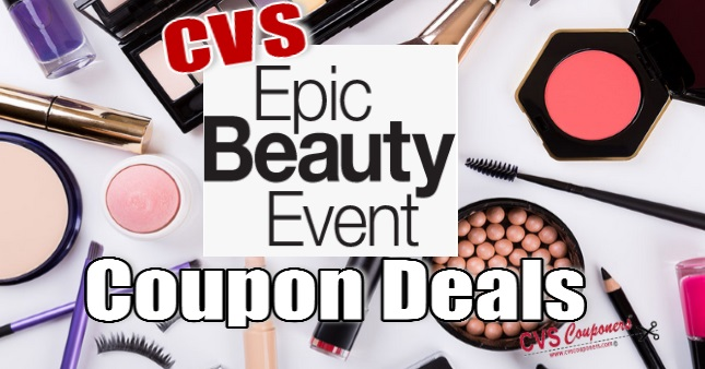CVS Epic Beauty Event Coupon Deals - 9/15-9/21