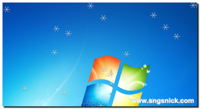 DesktopSnowOK 3.11 - Снежинки
