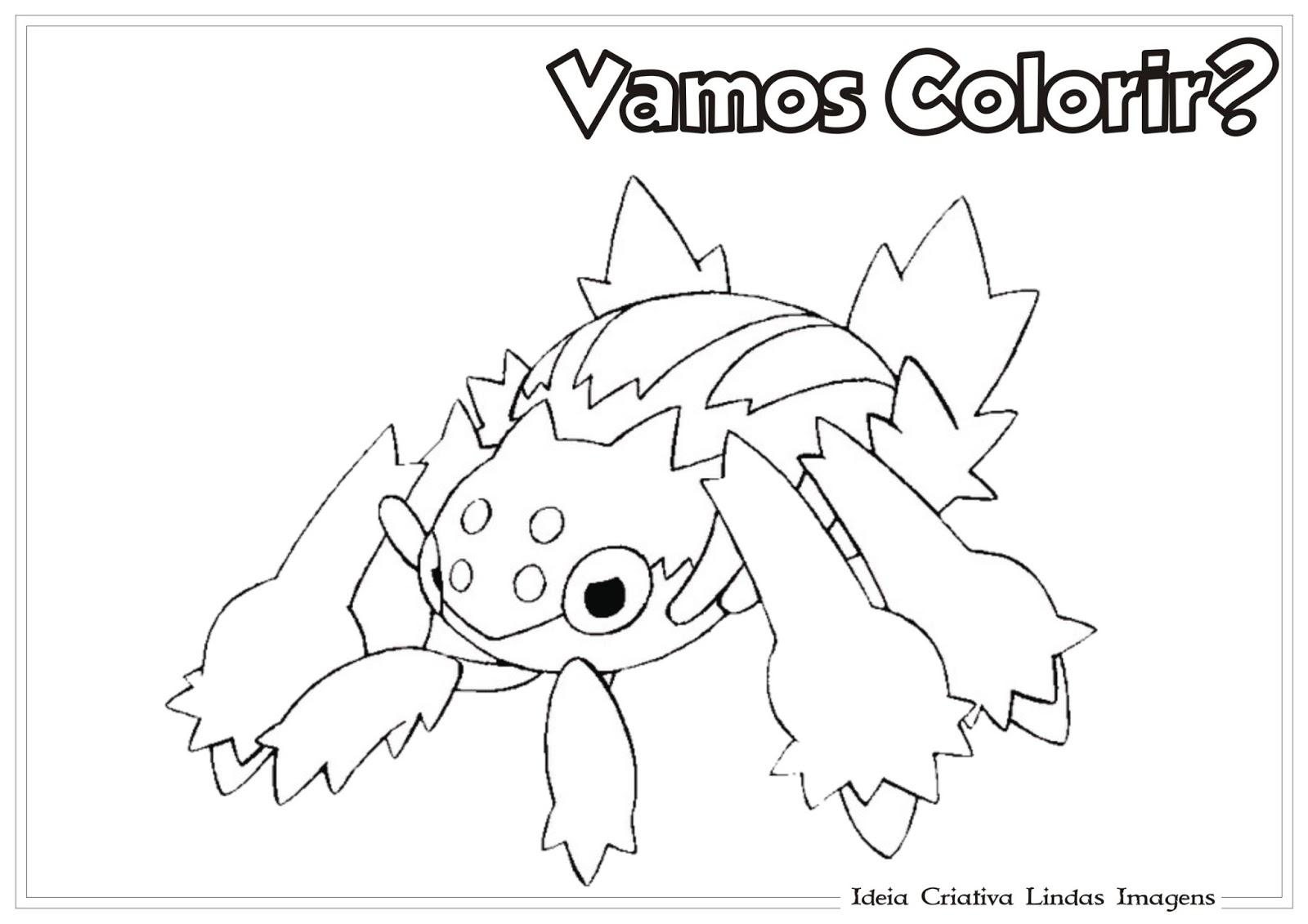 Desenhos Para Colorir Do Pokémon Pikachu