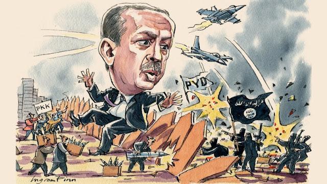 Η Τουρκία στις φλόγες