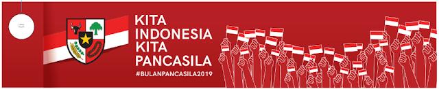 Pedoman Upacara Bendera Peringatan Hari Lahir Pancasila Tahun 2019