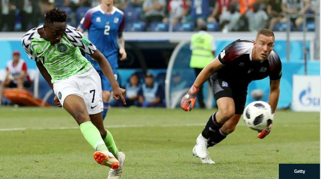 Ahmed Musa Clinches Nigeria Player Of The Year And Best Goal Awards