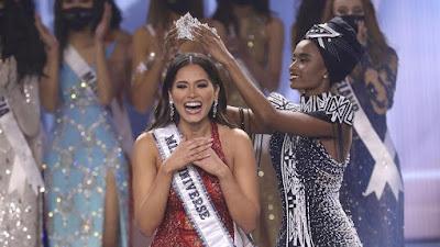 Miss Mexico Andrea Meza Juara Miss Universe 2020, Ayuma Gagal ke 10 Besar