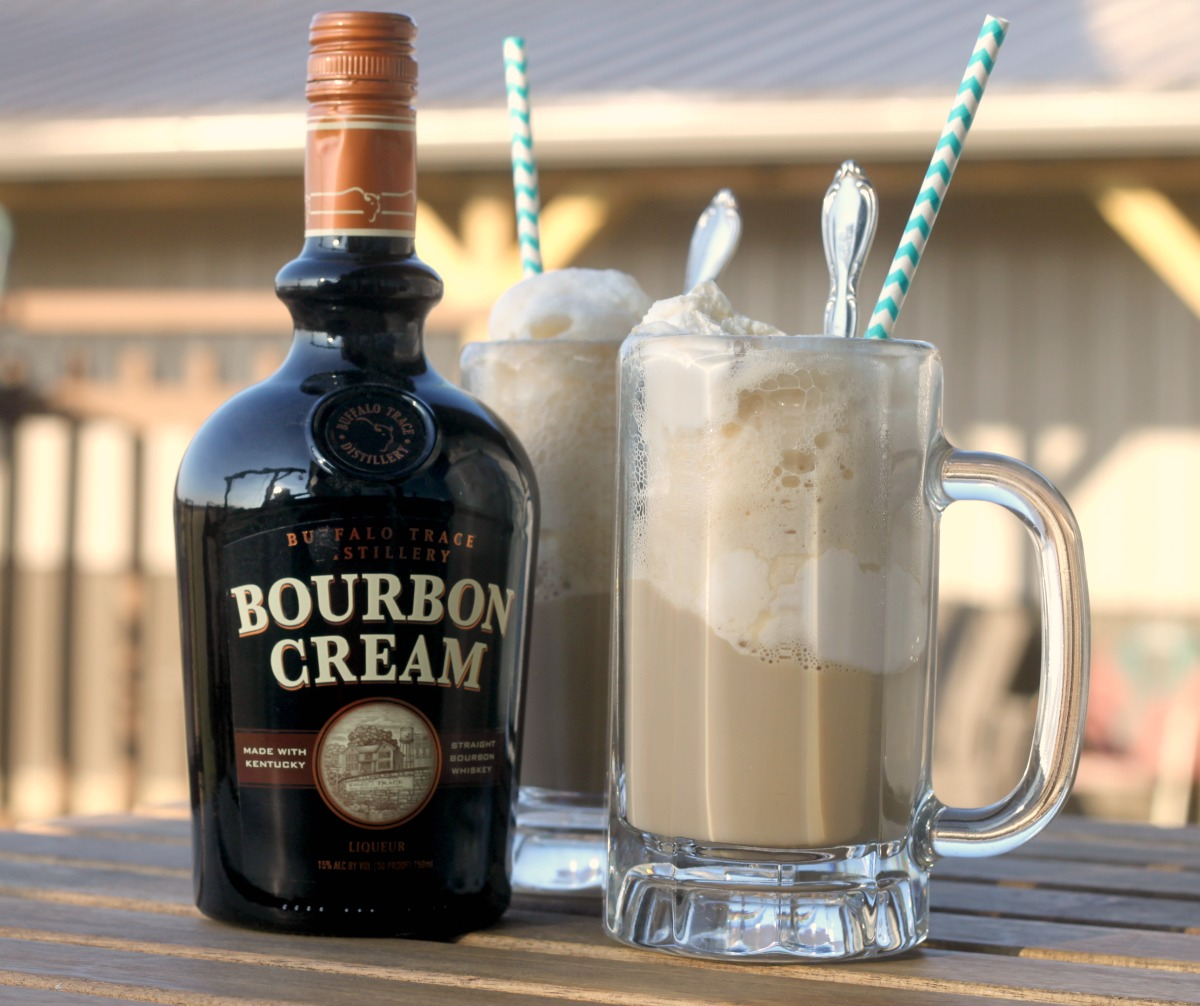 Crazy For Cookies And More: Bourbon Cream Root Beer Float