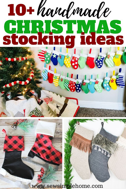 Get inspired by these free Christmas stocking patterns and make your own handmade Christmas stockings this year.
