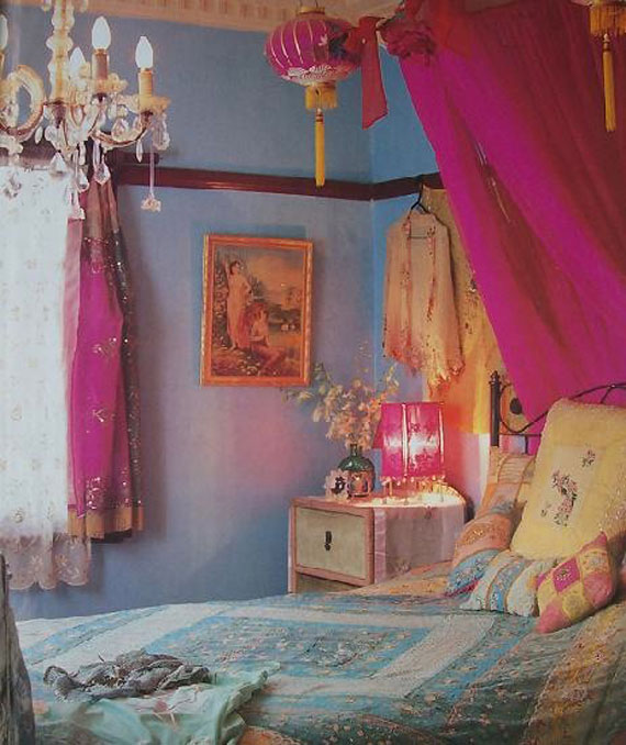 20 Glorious Old Mansion Bedrooms: A Tray Of Bliss: All Things Homespum...Bohemian Chic Style
