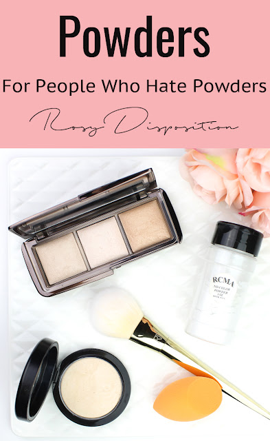 Powders for People Who Hate Powders Dry Skin hourglass ambient lighting powder mac mineralise skin finish natural RCMA no color review