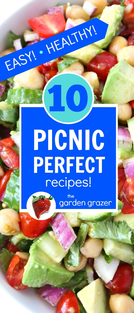 The Garden Grazer 10 Easy Picnic Perfect Recipes