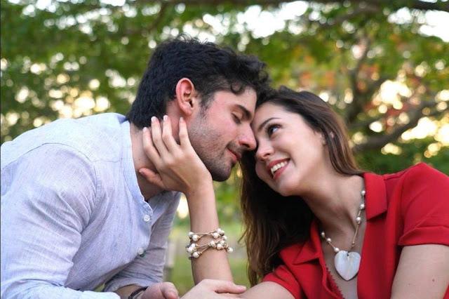 Carola Mestrovic y Jonathan Quintana