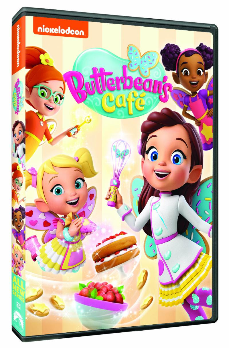 FAIRIES, FRIENDSHIP AND FOOD AWAIT  IN THE MAGICAL DVD DEBUT OF BUTTERBEAN'S CAFÉ  + DVD #Giveaway