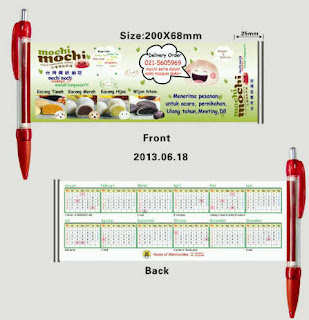 pulpen promosi, pulpen souvenir, pulpen kalender