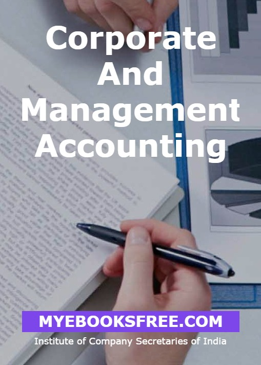 Corporate and Management Accounting pdf book by ICSI free download