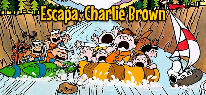 Escapa, Charlie Brown 1977