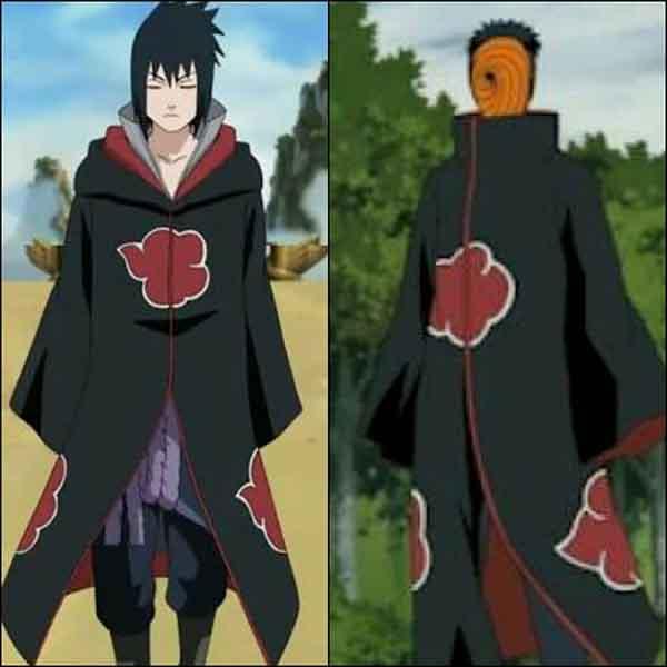 Sasuke dan Obito menjadi anggota akatsuki