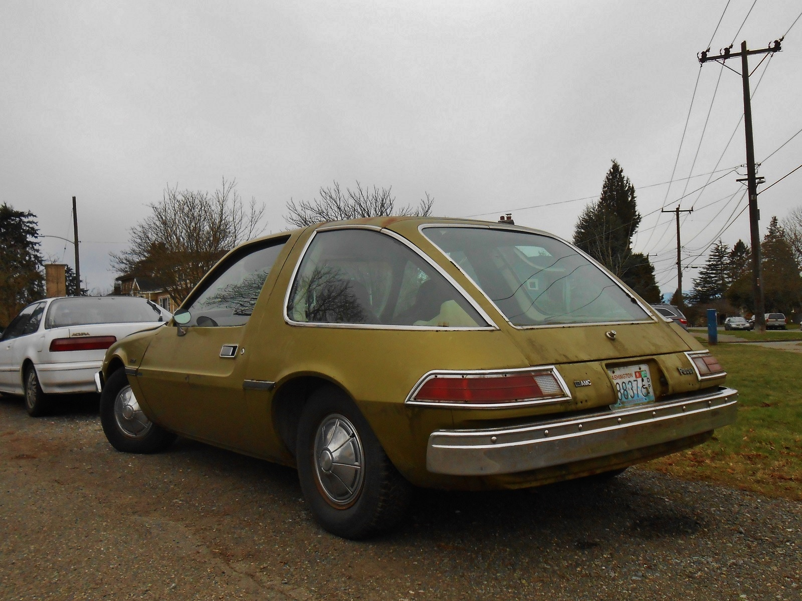 Seattle S Parked Cars 1976 Amc Pacer