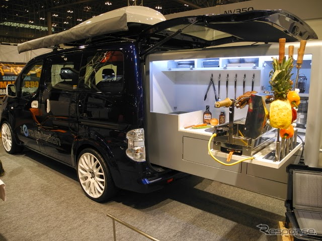 nissan e nv200 most suitable for camping cars to. Black Bedroom Furniture Sets. Home Design Ideas