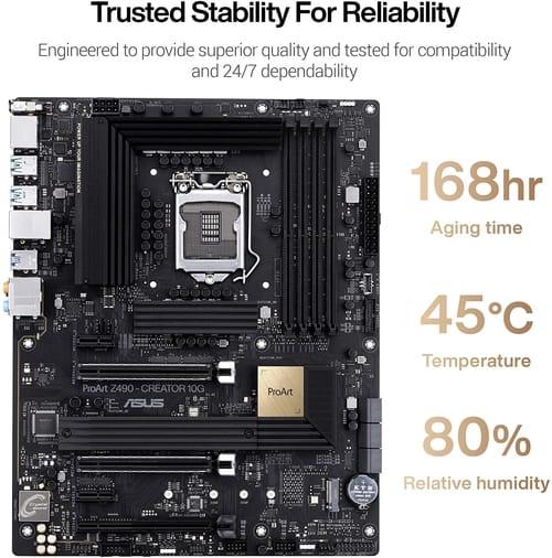 Review ASUS ProArt Z490-CREATOR Motherboard