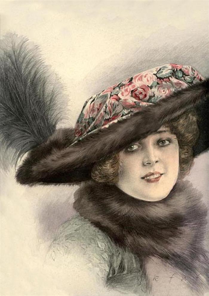 Loveisspeed Fashion Hats 1910 1912
