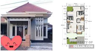 Rumah Minimalis 7x10 Tampak Depan - DESAIN RUMAH MINIMALIS