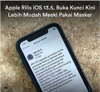 Apple Rilis iOS 13.5