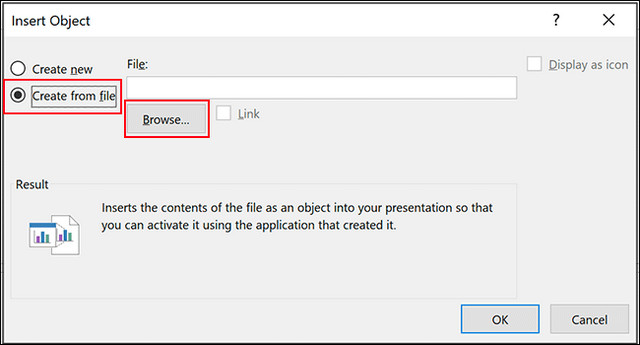كيفية ادراج ملف بي دي إف PDF داخل مستند باوربوينت بطريقتين