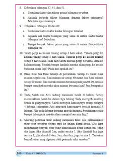 kunci jawaban matematika kelas 7 halaman 100
