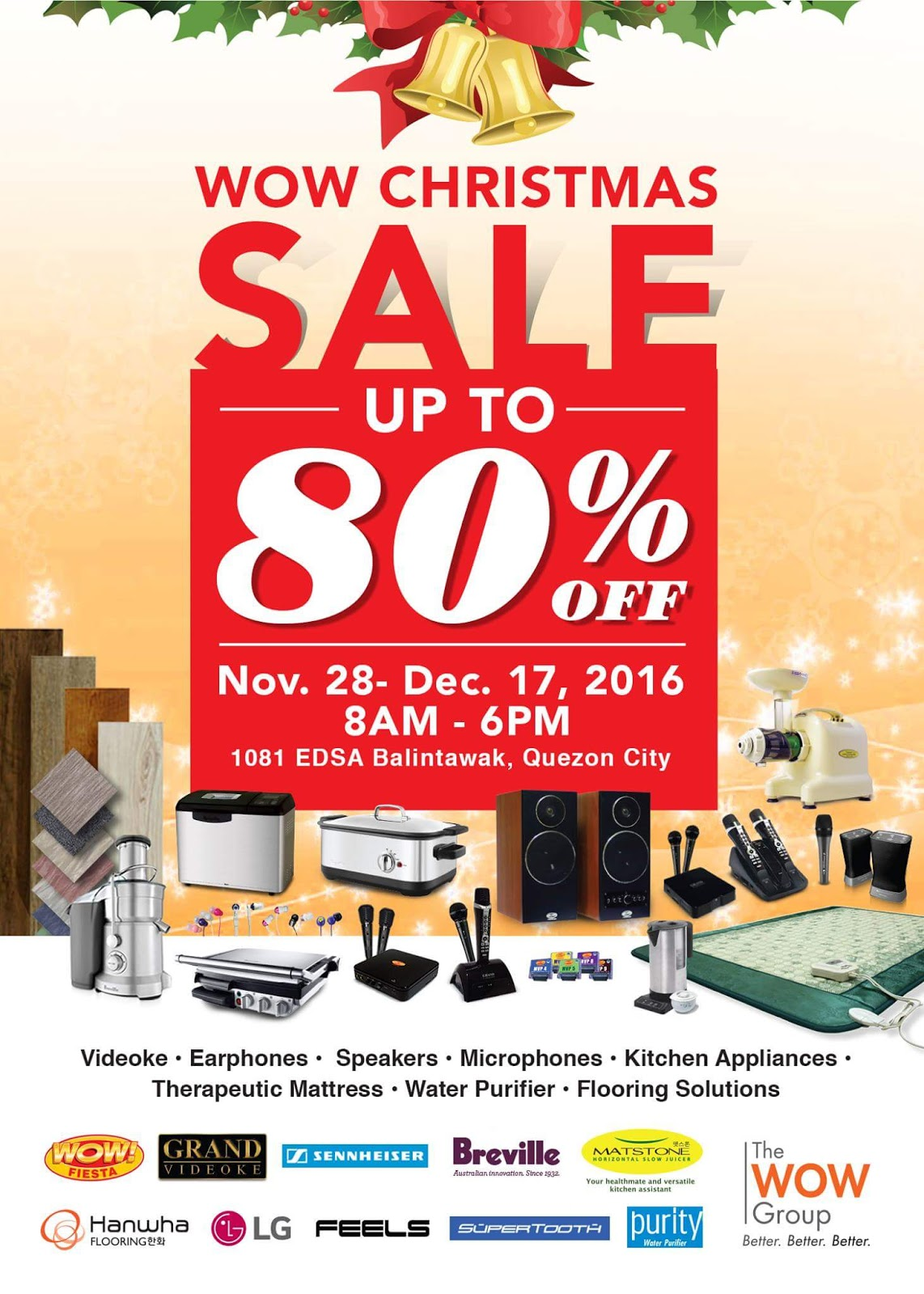 Wow Christmas.Manila Shopper The Wow Group Christmas Warehouse Sale