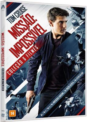 Coleção DVD Missão Impossível