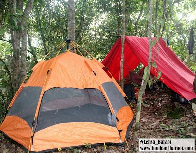 Camping di Bukit Tandu