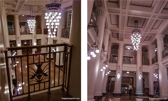 Nashville: foyer do Schermerhorn Symphony Center