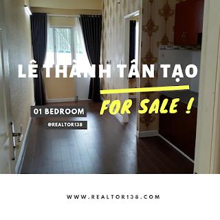căn hộ 33,9m2 chung cư Lê Thành Tân Tạo