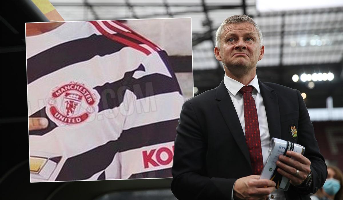 Manchester United Zebra-design jersey