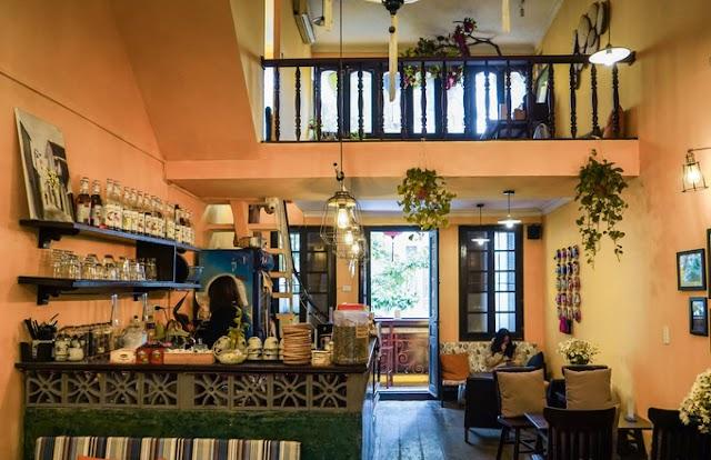Hoi An style cafe in the heart of Hanoi