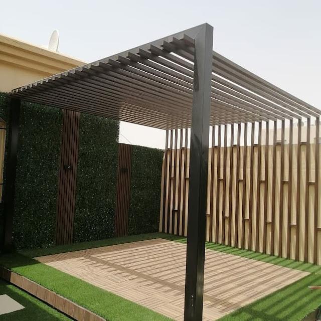 تصميم جلسات حدائق بالقصيم وبريدة وعنيزة