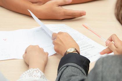 Contoh Format CV Lamaran Kerja dan Template CV Yang Benar