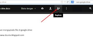 icon link berbagi google drive