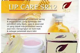 Lip Care SR12 Herbal Skincare Pelembab Bibir Pecah Sekaligus Pencerah Bibir