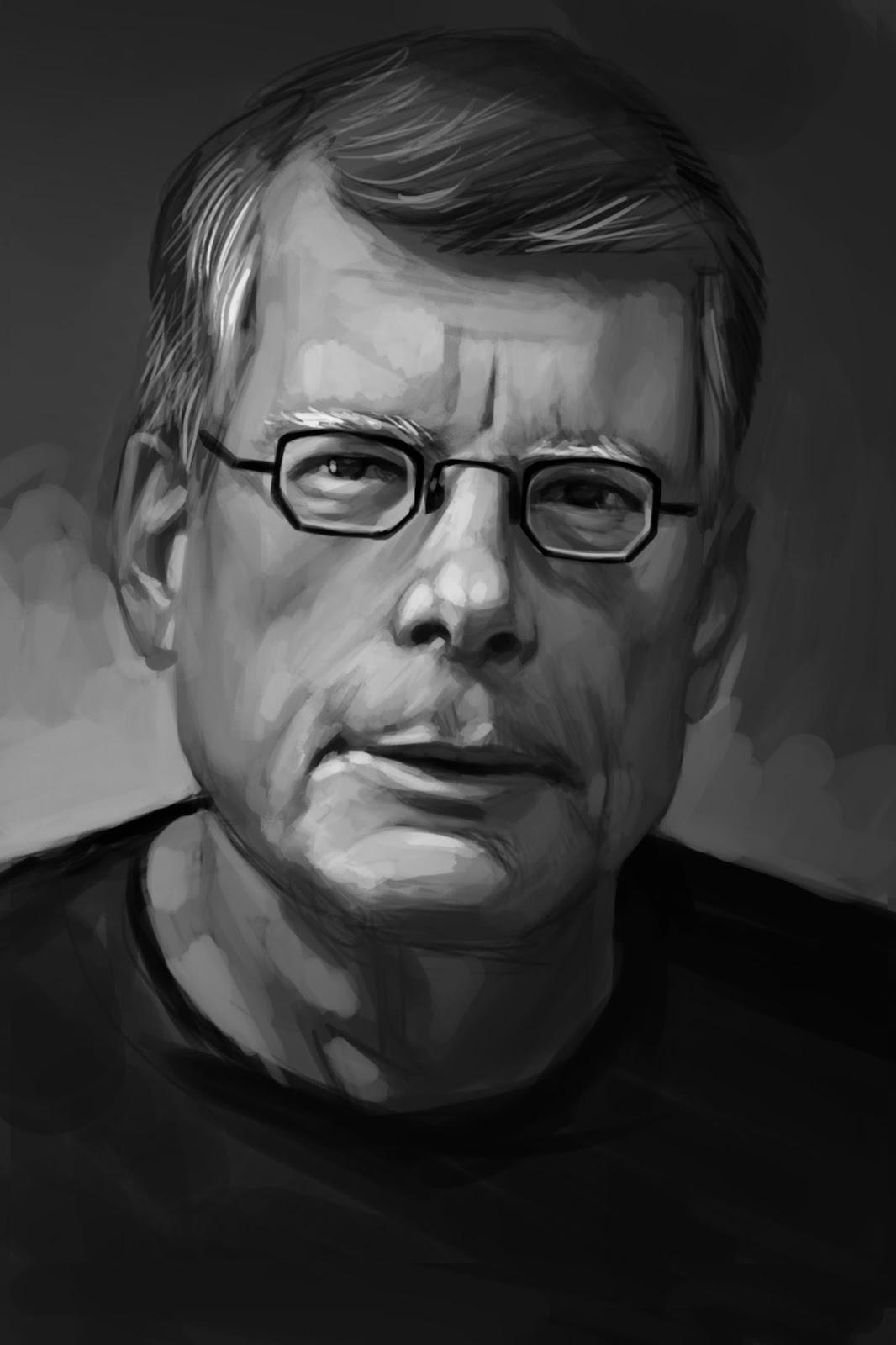 the art of Eric Belisle New Portraits of Authors
