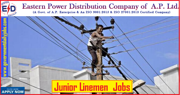 APEPDCL Recruitment 2019: Apply for 2859 Junior Linemen Vacancy,