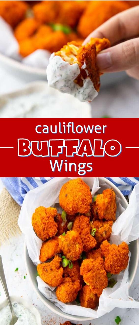 Cauliflower Buffalo Wings Recipe